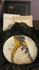 Bathsheba and Solomon collector plate - lovely gift!