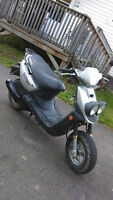 2002 yamaha bws scooter for sale
