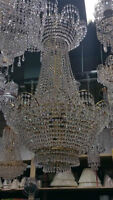 Crystal Chandeliers 50-60% off!!