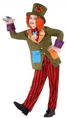 Jungen Verrückter Hutmacher Alice Im Wunderland Büchertag Kostüm - Junge Alice Im Wunderland Kostüm