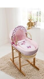 Butterfly moses basket