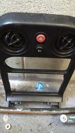 Mazda Mx5 Eunos pop up light switch, tombstone, hazard button