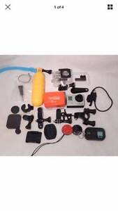 GoPro Hero3 silver with tons of accessories Pyrmont Inner Sydney Preview