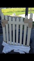 Selling PVC fence brand new still in the plastic