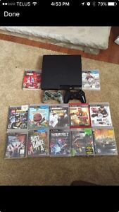PlayStation 3 with 12 games