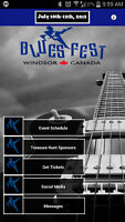 BLUESFEST WINDSOR HAS AN APP - AND EVERYONE NEEDS IT!