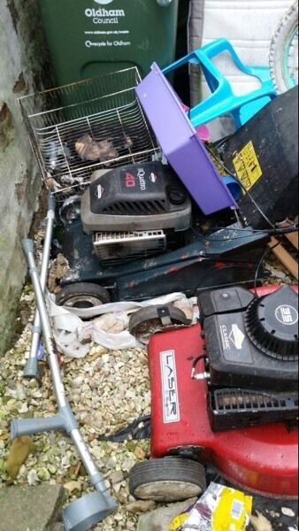3 petrol lawnmowers spares or repair