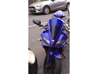 YAMAHA YZF R125 2011 PRIVATE PLATE