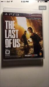 The Last of Us PS3 Game (never played)