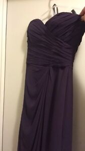 Plum prom/ special event gown  London Ontario image 1