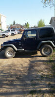 1998 Jeep TJ SUV, Crossover