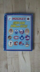 1983-84 Funmate Hockey Sticker Album