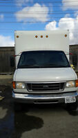 2005 Ford E-Series Cube Van For Sale Call Osman 416-828-6666