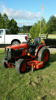 "2001 Kubota 7500 MFD with 60 ""deck"