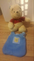 Winnie The Pooh Plush Includes Bean Bag Outfit