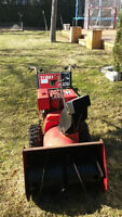 Toro 8 horsepower snow blower