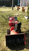 Toro 8 horsepower snow blower