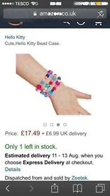 Hello Kitty jewellery making kit