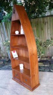 Rustic Beach House Shabby Chic Style Boat Bookcase Shelf Timber Coogee Eastern Suburbs Preview
