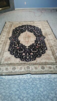 Turkish Rug Imported 5x8, Silk on Cotton Hand Made