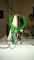 Prusa i3 3D Printer Wood Version, Built and Tested