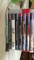 PS3 games in mint condition