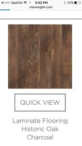 New In Box Laminate Flooring