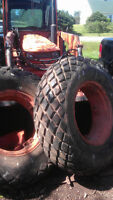 14.9X24 Good year Turf tires. New price!