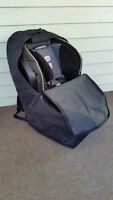 J. L. Childress Ultimate Car Seat Travel Bag, Black