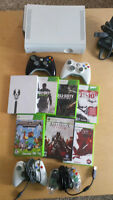 xbox 360 - 4 controllers - 7 games - hdmi