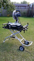 MITRE SAW WITH STAND - LIKE NEW!!!