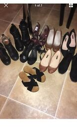 Size 4 shoe bundle! *reduced for really quick sale*! Only £25 for the lot!