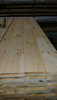 plancher de pin rouge et planche mural ou plafond pin blanc $