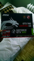 MSI GTX 980 GAMING 4G GeForce GTX 980 4GB 256-Bit