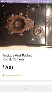 Antique Pocket Vest Camera  Kitchener / Waterloo Kitchener Area image 2
