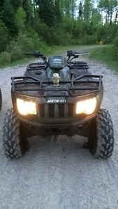 Quad and sled for a truck