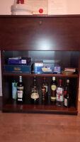 Mutli home furniture - shelves, poster, table, stool