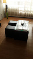 STRUCTUBE Coffee Table + Stools | 200$