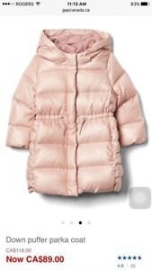 Gap winter jacket 2T
