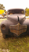 Rare 1940 D15 Slantback with Ownership