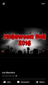 Halloween ball at Les Bouviers