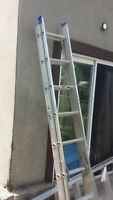 16 Feet extension and 8 Feet step ladder for sale