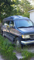 1996 Ford E-150 Conversion Van Minivan, Van