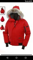 New Noize® Boys' Bomber Winter Jacket w/Hood And Faux Fur