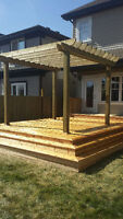 TOP QUALITY DECK AND FENCE BUILDER, GREAT PRICES