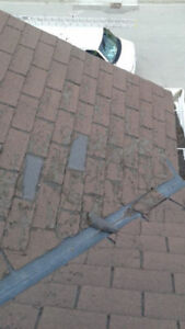 MISSING A SHINGLE? GOT A LEAK?  - 416-568-3571 - Mississauga