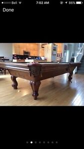 Brunswick pool table 4x8 Edmonton Edmonton Area image 2