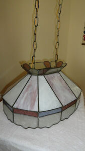 Oval Stained Glass Lamp Cambridge Kitchener Area image 5