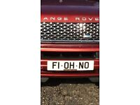 Formula 1 , or mclaren F1 private Reg ( OH NO )