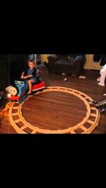 Ride on thomas with track